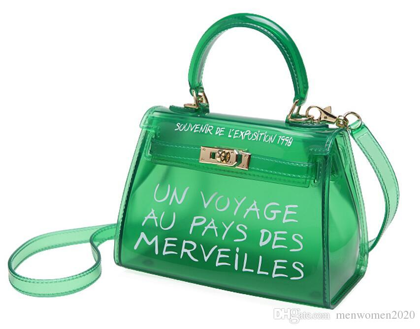 bfc8cff8aca Fashion Designer Pearls Jelly Transparent Bag Clutch Jelly Bag ...