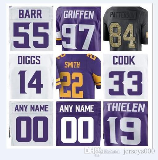 2018 2018 Minnesota Harrison Smith Vikings Jersey Randy Moss Kyle Rudolph  Anthony Barr Everson Griffen Adam Thielen American Custom Jerseys 4xl From  Us777 a558ad11f