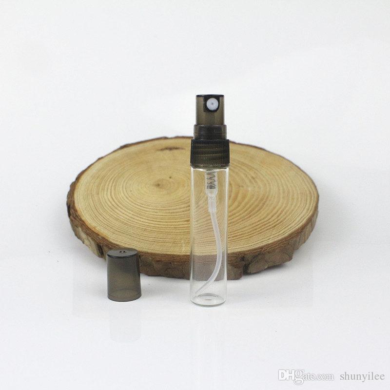 5 ml Şeffaf Şeffaf Sprey Şişeleri püskürtücü Parfüm şişesi Parfüm Kozmetik Konteynerler hızlı kargo F20173473
