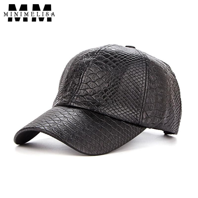 2018 New Winter Baseball Cap Crocodile Pattern Pu Shade Hats Men Outdoor Cap  Baseball Cap Adjustable Leather Hat Unisex Hats For Sale Neweracap From  Dhcomcn ... 88fd5f6db79