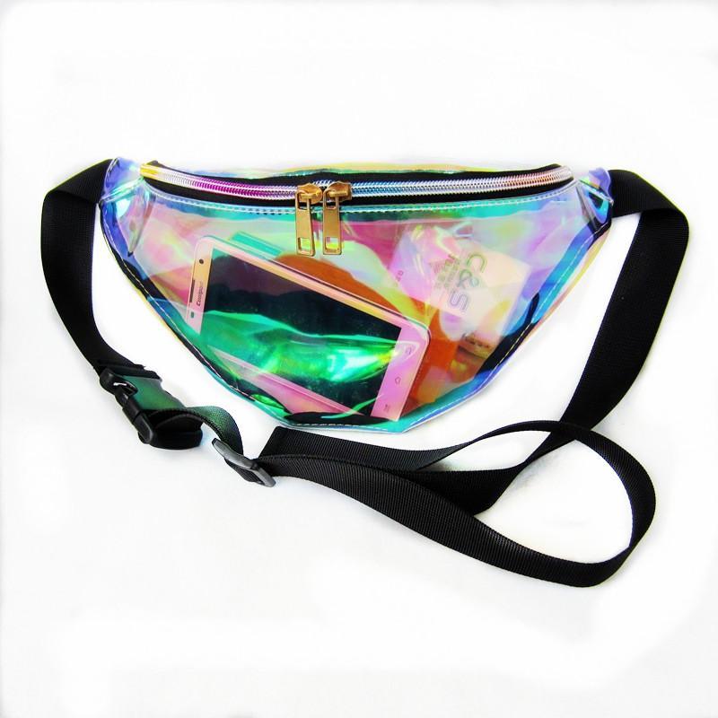 be23b93bde New Holographic Fanny Pack Laser Waist PacHeuptas Hip Bag Women s ...