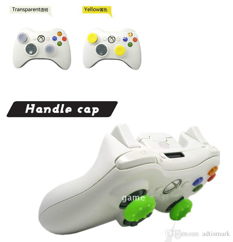 Wholesale Soft Skid-Proof Silicone Thumbsticks cap Thumb stick caps Joystick covers Grips cover for PS3/PS4/XBOX ONE/XBOX 360 controllers