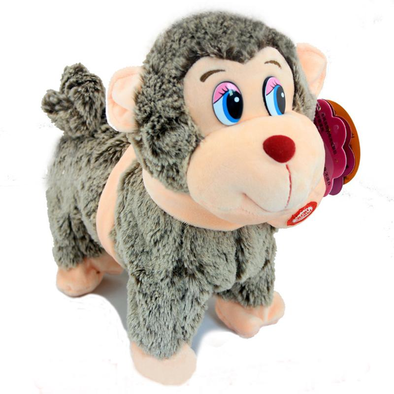 Virtual Pet Toy Walking Singing Monkey Interactive Toys Electronic