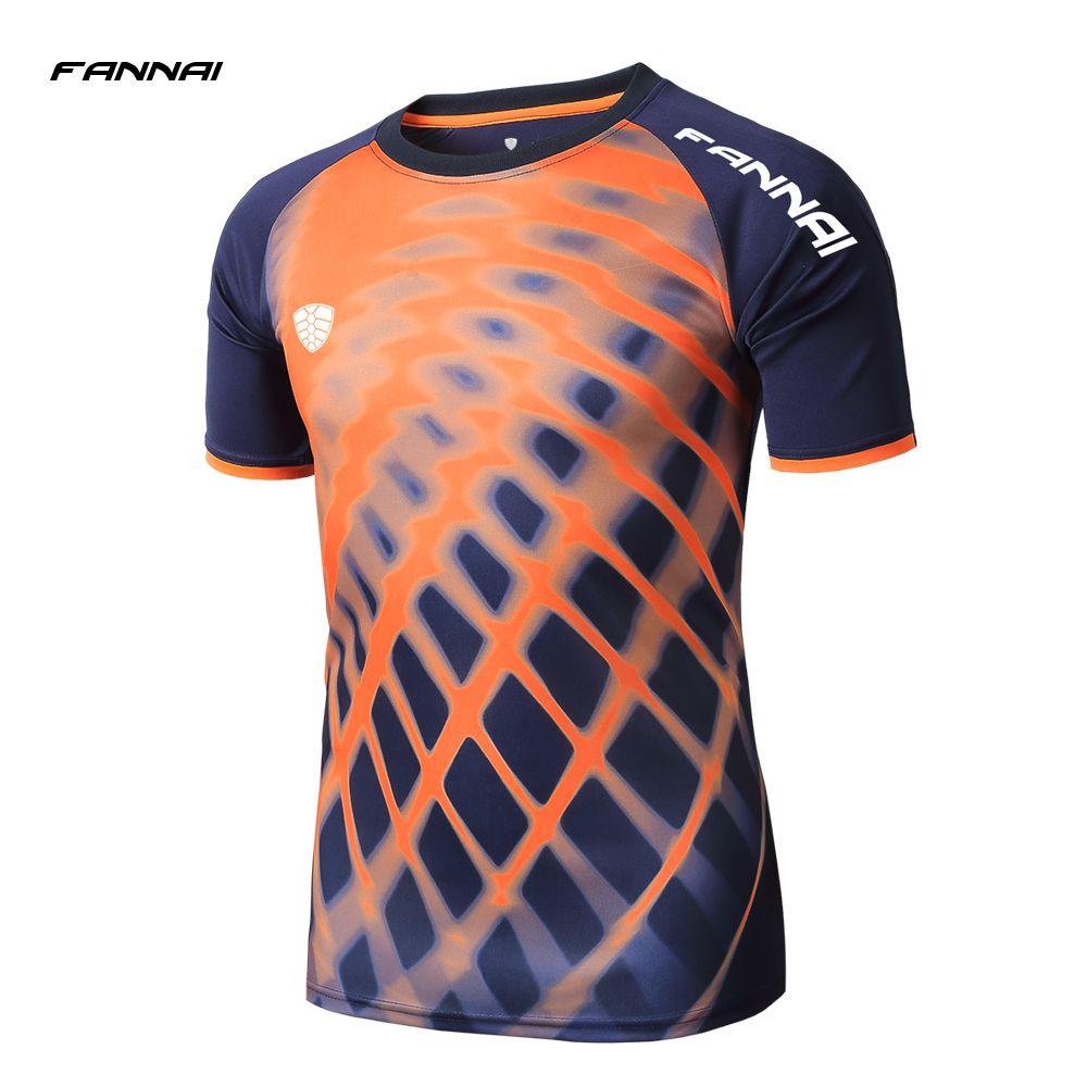 4cd746d8792 2018 New Men s Sport Shirt For Gym Basketball running sports Clothing  soccer Jerseys Bodybuilding Male Compression short Shirt
