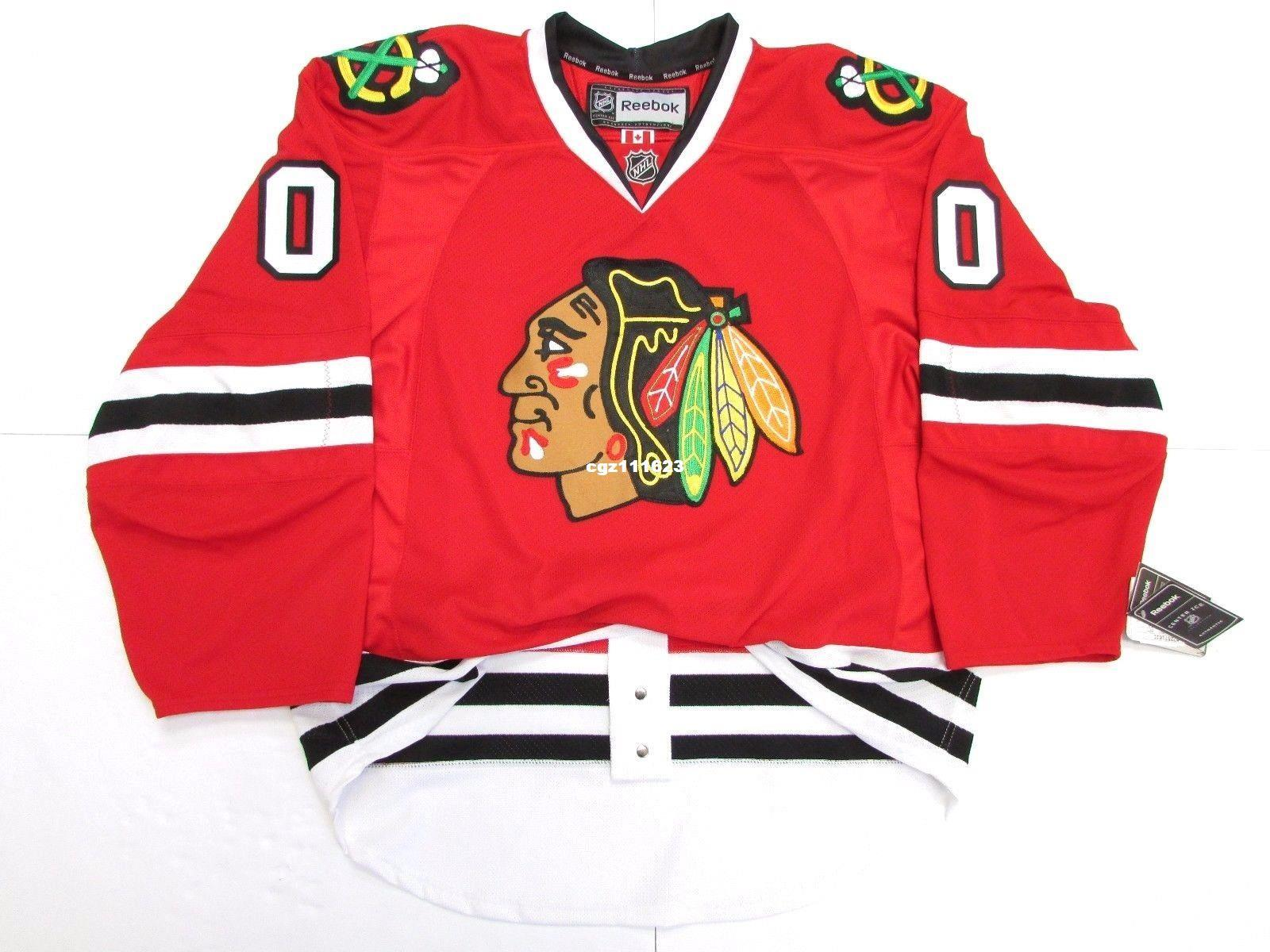 Cheap Custom CHICAGO BLACKHAWKS ANY NAME NUMBER HOME Stitched HOCKEY JERSEY  Cheap Hockey Jerseys CCM Hockey Jersey Wholesale Hockey Jersey Online with  ... 66aee67aa