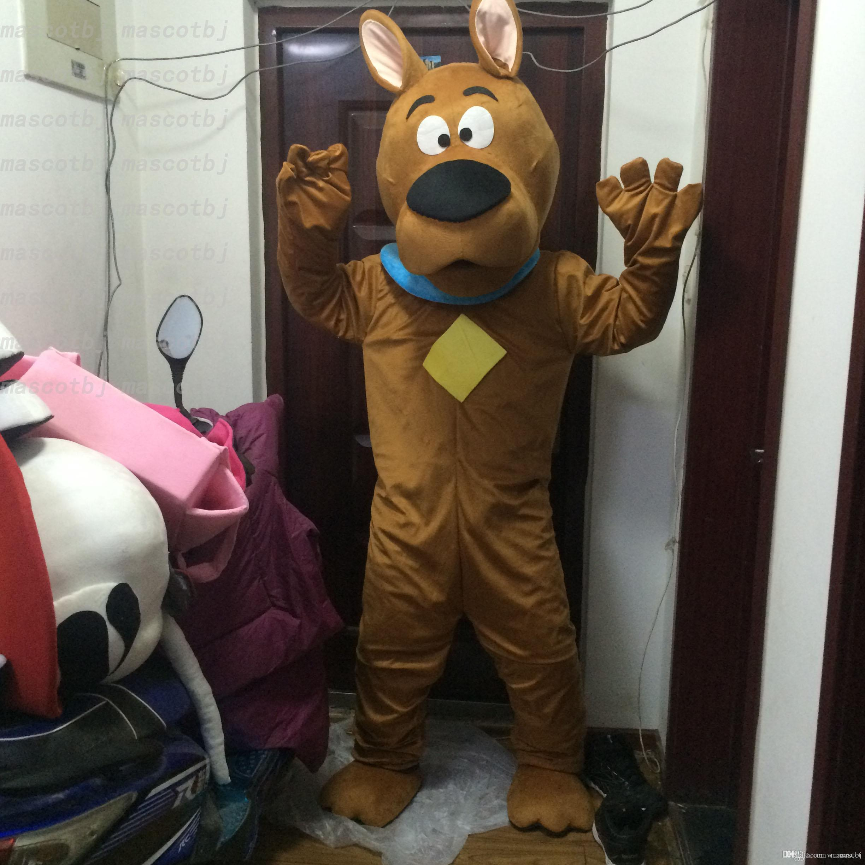 Großhandel Scooby Scooby Doo Cartoon Hund Plüsch Maskottchen Kostüm ...