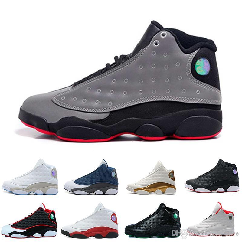 b56dfefc9f30 13 13s Mens Basketball Shoes Phantom Chicago GS Hyper Royal Black ...
