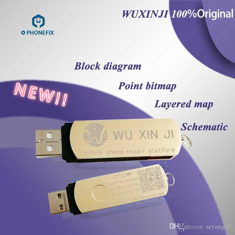 Handy Entsperren Gratis Fixphone 100% Original Wuxinji Dongle Dongle ...