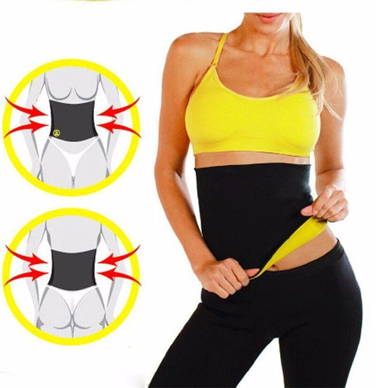 e8a216c608cd7 Hot Shapers Waist Cinchers Women Neoprene Slimming Body Shaper Belt ...