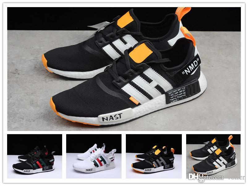 029a1edf2e25c 2018 Newest NMD Runner R1 Primeknit Sneakers Best Quality Off New ...