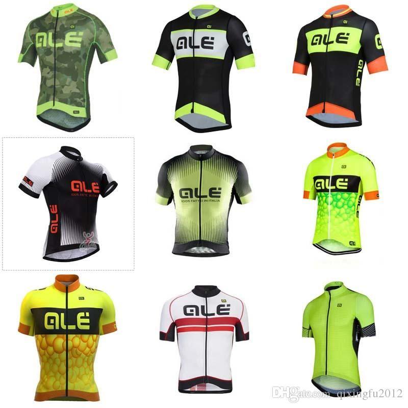 ALE Team Cycling Short Sleeves Jersey Bike Mens Short Sleeves Ciclismo Ropa  Ciclismo Hombre Camisa De Ciclismo C1309 ALE Cycling Jersey Camisa De  Ciclismo ... bda3ec240