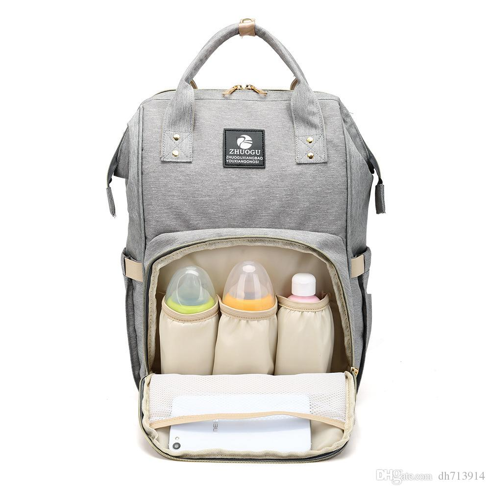 e5365406f39 Wholesale Sunveno Fashion Mummy Maternity Nappy Bag Brand Large Capacity  Baby Bag Travel Backpack Desinger Nursing Bag For Baby Care Small Backpack  Backpack ...