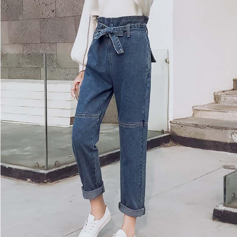Acquista Donna E Con Allacciatura Alla Jeans Risvolto xxw71