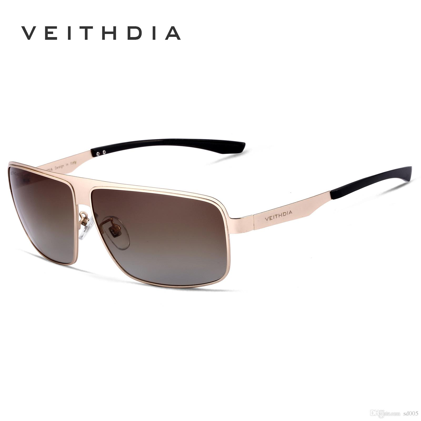 7434ada22c Designer Sunglasses Men Women Brand Fashion Stainless Steel Ultraviolet  Proof Glasses Resist UV 400 VEITHDIA Without Box 31ws Hh Native Sunglasses  Wholesale ...