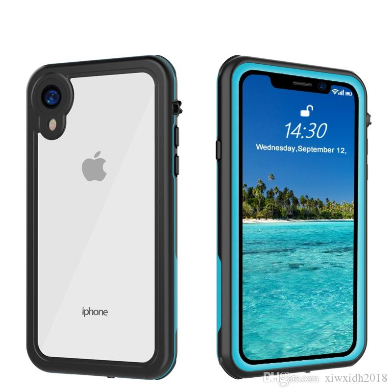 huge selection of 339ef 73902 Redpepper For iPhone Xr Waterproof Case Shock Dirt Snow Proof Protection  With Touch ID For iPhone XrCase 360 Full-Body Protective Cover Skin