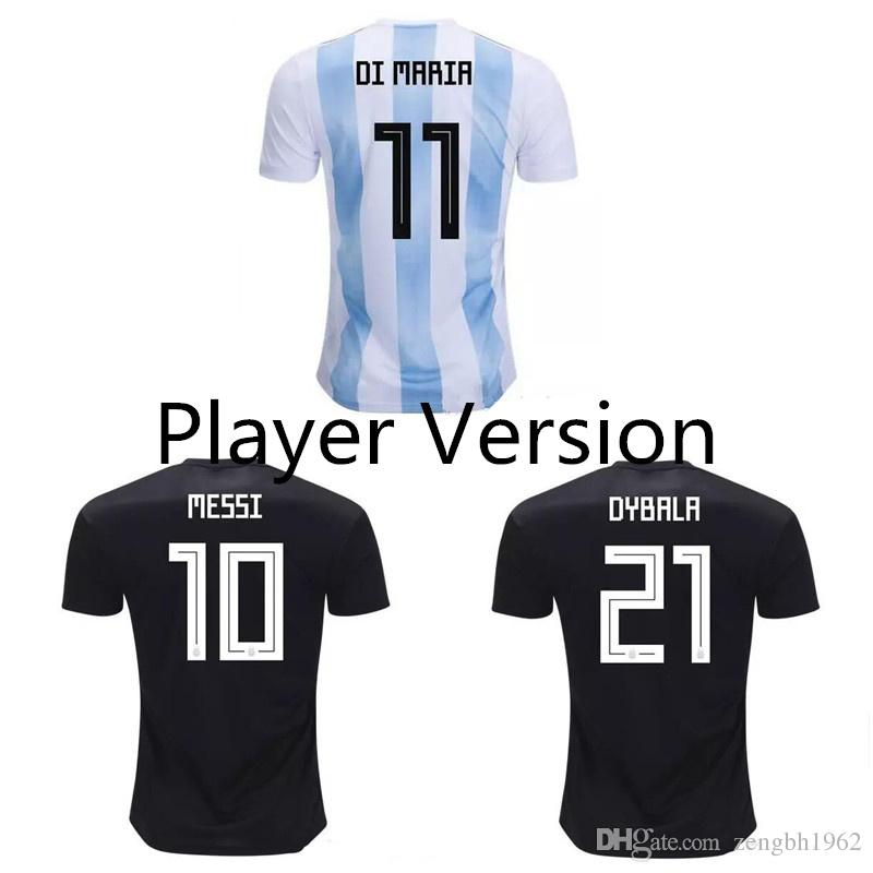 c14c6d1fa Player Version 2018 World Cup Argentina Soccer Jerseys 2019 HIGUAIN ...