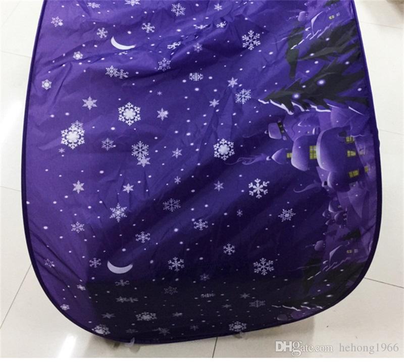 Kids Anti Moskitonetz enthält Leselampe Faltbare Traumzelte Unicorn Moon Clouds Cosmic Space Moskitos Vorhang für Zuhause 27hs Z