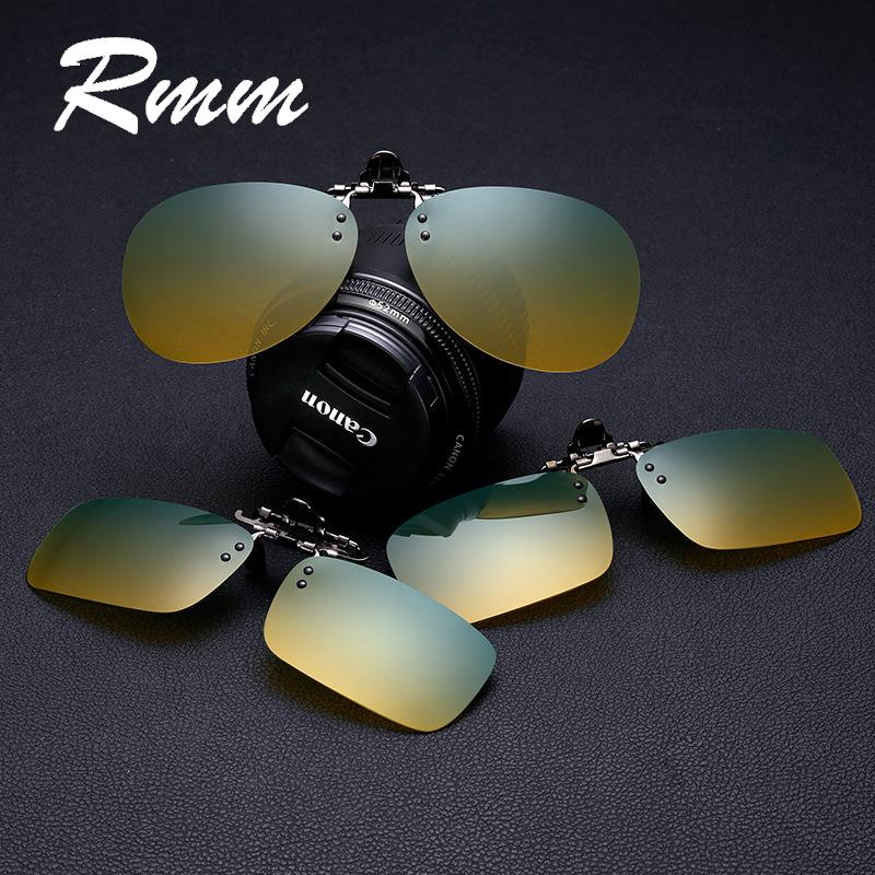 be3666d057 RMM Men Gradient Sun Women Flip Up Polarized Sunglasses Clip On Myopia Glasses  Day Night Vision Goggles Sun Glasses UV400 Polarised Sunglasses Baby ...