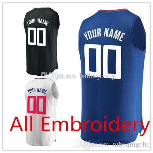 ... coupon 2018 custom 23 lou williams jersey 34 tobias harris 25 austin  rivers 6 deandre 8 c2940f802