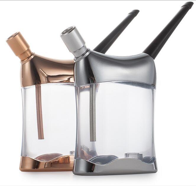 new tobacco Smoking Accessories acrylic Shisha hookah Multifunctional Water Pipe Cigarette Filters Smoking Pipe cigarette holder man gift