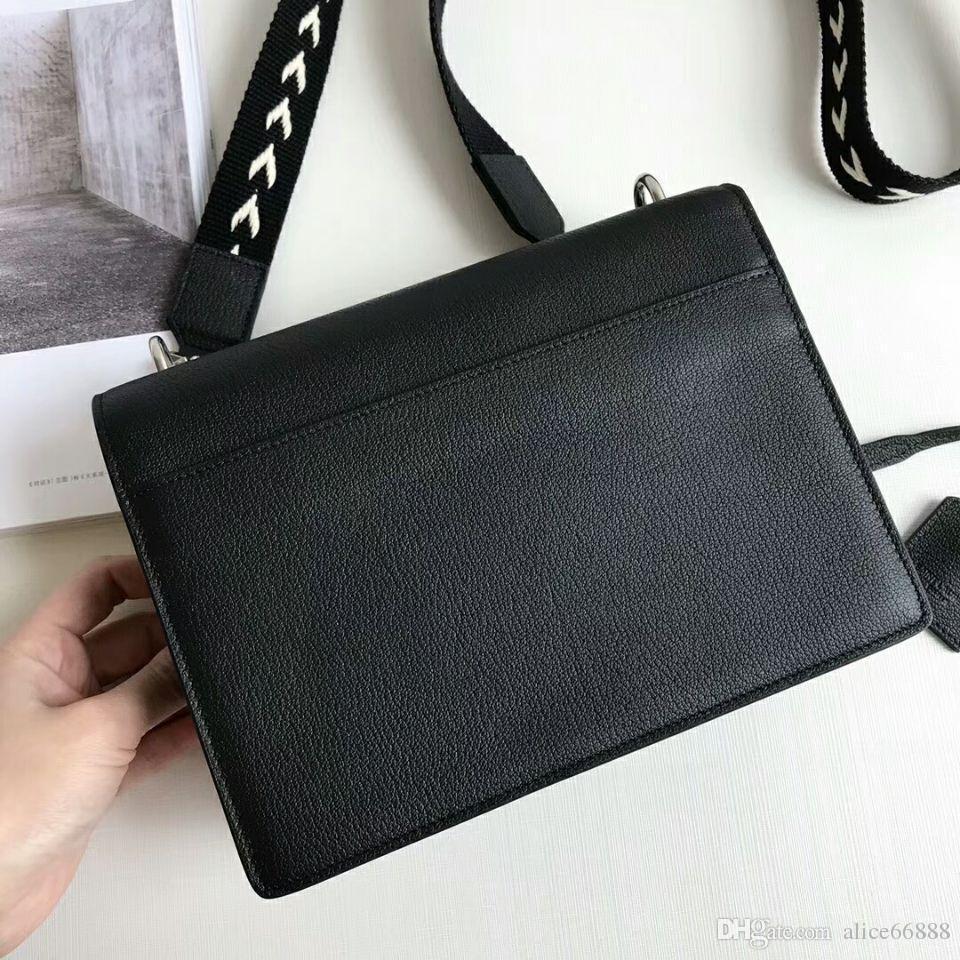 alta qualità 2018 borsa borse in vera pelle donne borse o borsa designer donne borse a tracolla con catene bolsas femininas spedizione gratuita