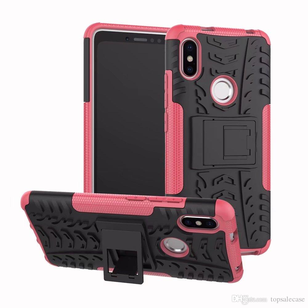 For Xiaomi Redmi S2 Case Colorful Stand Rugged Combo Hybrid Armor Bracket Impact Holster Protective Cover For Xiaomi Redmi S2