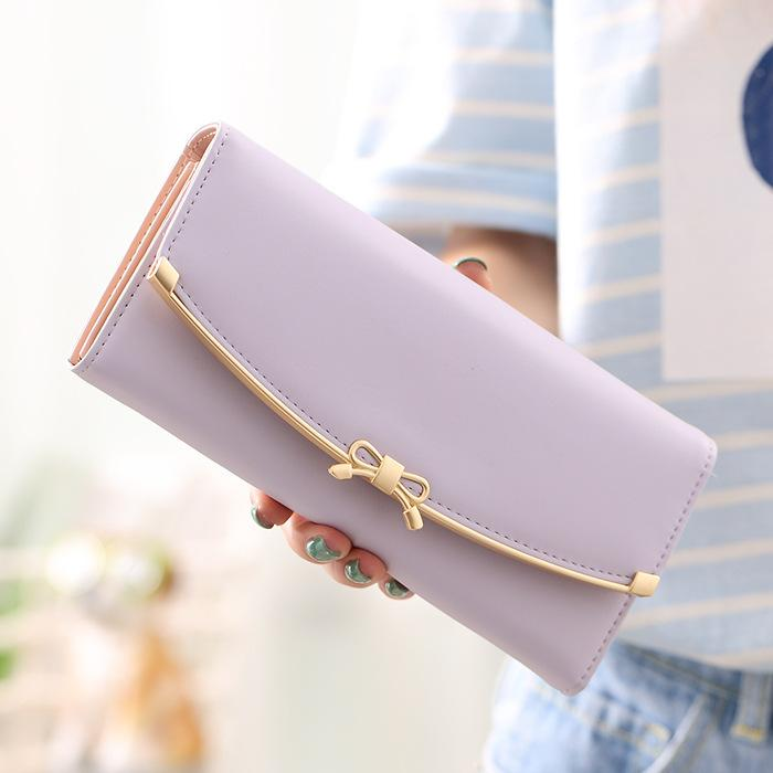 b38c31e9e5c7 Women s Wallet Envelope Clutch Purses For Women Leather Hasp Fashion ...