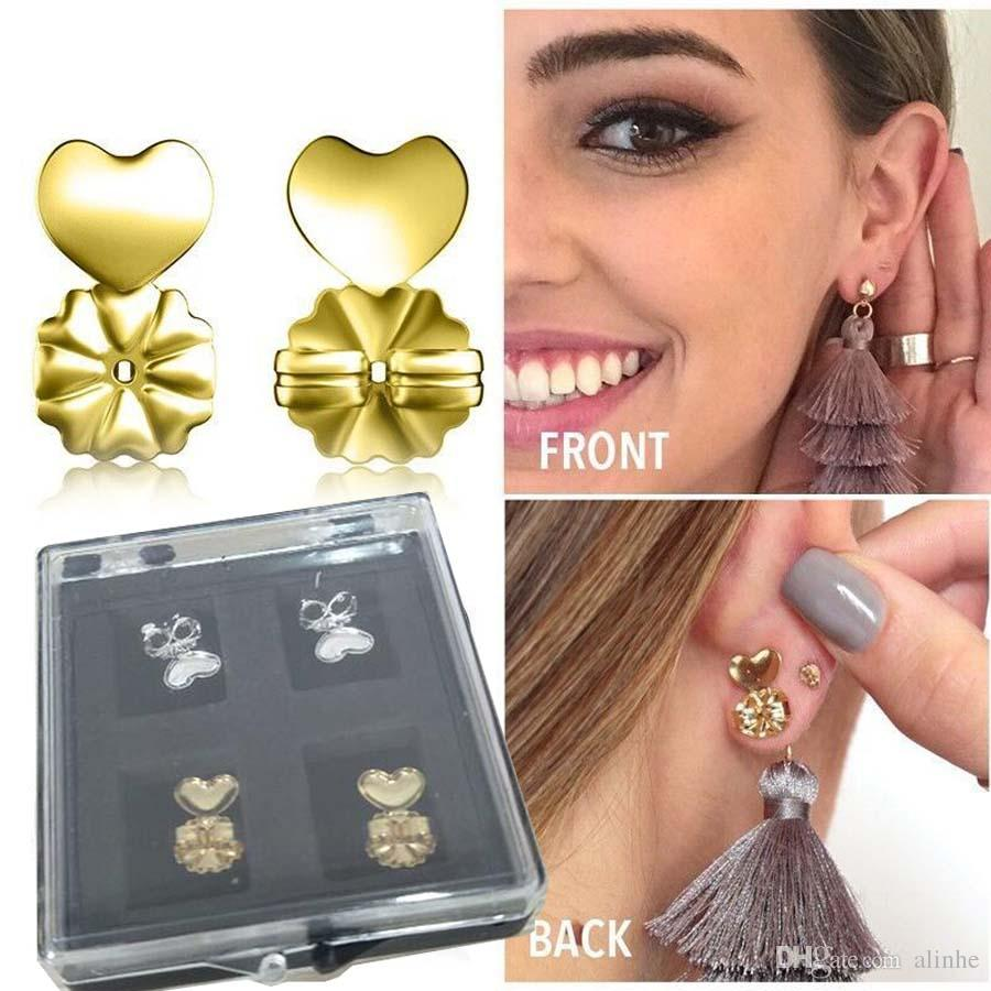 ad9d126ce Fashion Magic Bax Earring Backs Support Earring Lifts Fits All Post Earrings  Gold Plated Sterling Silver With Crystal Box Led Spot Lights Led  Wholesalers ...