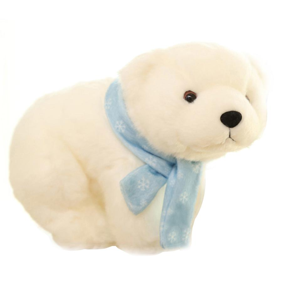2019 Small Plush Bear Stuffed Animal Polar Bear Toys Baby Doll