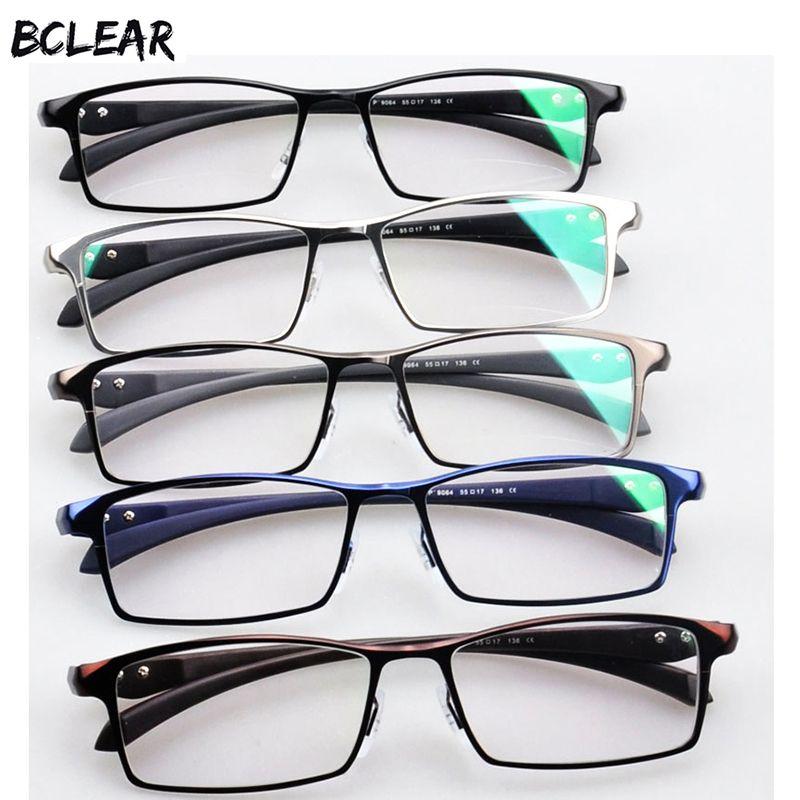 Großhandel Bclear Männer Titanlegierung Brillengestell Brillen ...