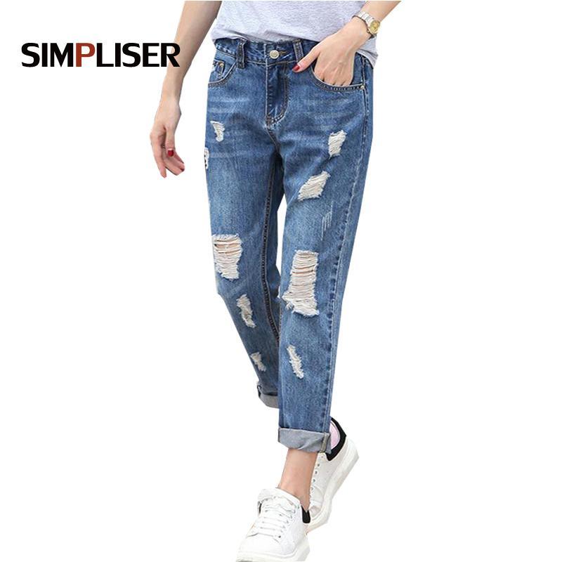Summer Larghi 2018 Simpliser Jeans Acquista Fashion Donna Pantalone agTcwCf