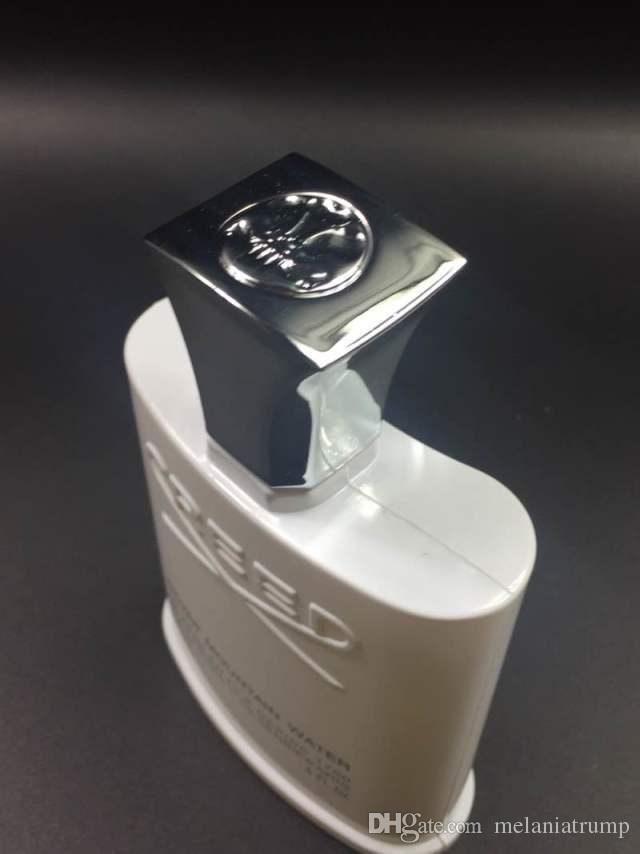 Nuevo Perfume de Agua de Montaña Plateada para Hombres Colonia 120ml con tiempo de larga duración buen olor de buena calidad alta capacidad de fragancia
