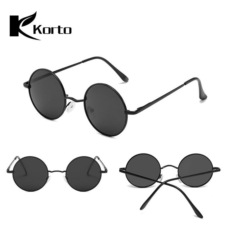 25cad8211d Compre John Lennon Gafas De Sol Polarizadas Hippie Para Hombre Gafas  Redondas De Sol De Época Para Hombre Protección UV400 Para Mujer Damas De  Cricle A ...