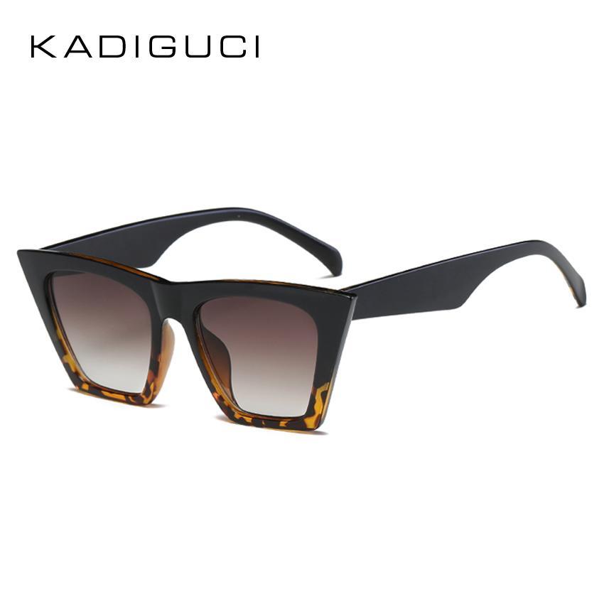 9680ae163fb KADIGUCI 2018 New Fashion Cat Eye Sunglasses Women Brand Designer Candy  Color Unique Tortoise Plastic Sun Glasses Men UV400 K0310 Glasses Frames  Glasses ...