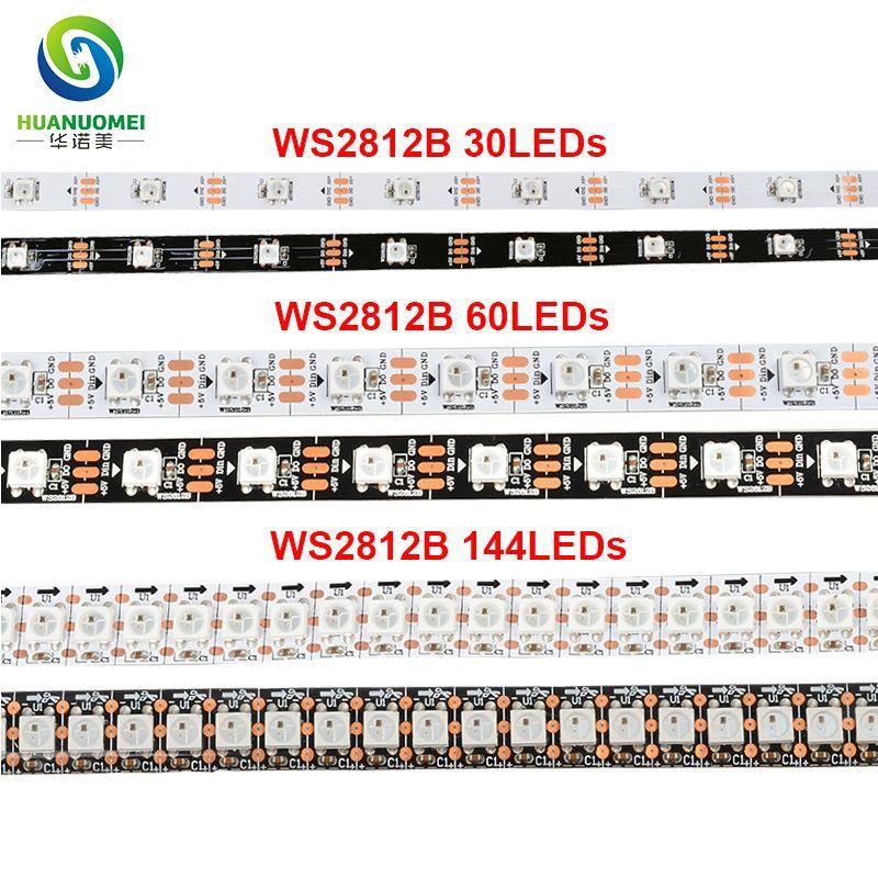 5v ws2812b digital smd 5050 30 60 74 96 144 leds rgb led strip 5v ws2812b digital smd 5050 30 60 74 96 144 leds rgb led strip ws2812 flex tape ws2811 led lighttv arduinoambilightbacklight marine led strip lights led aloadofball Images