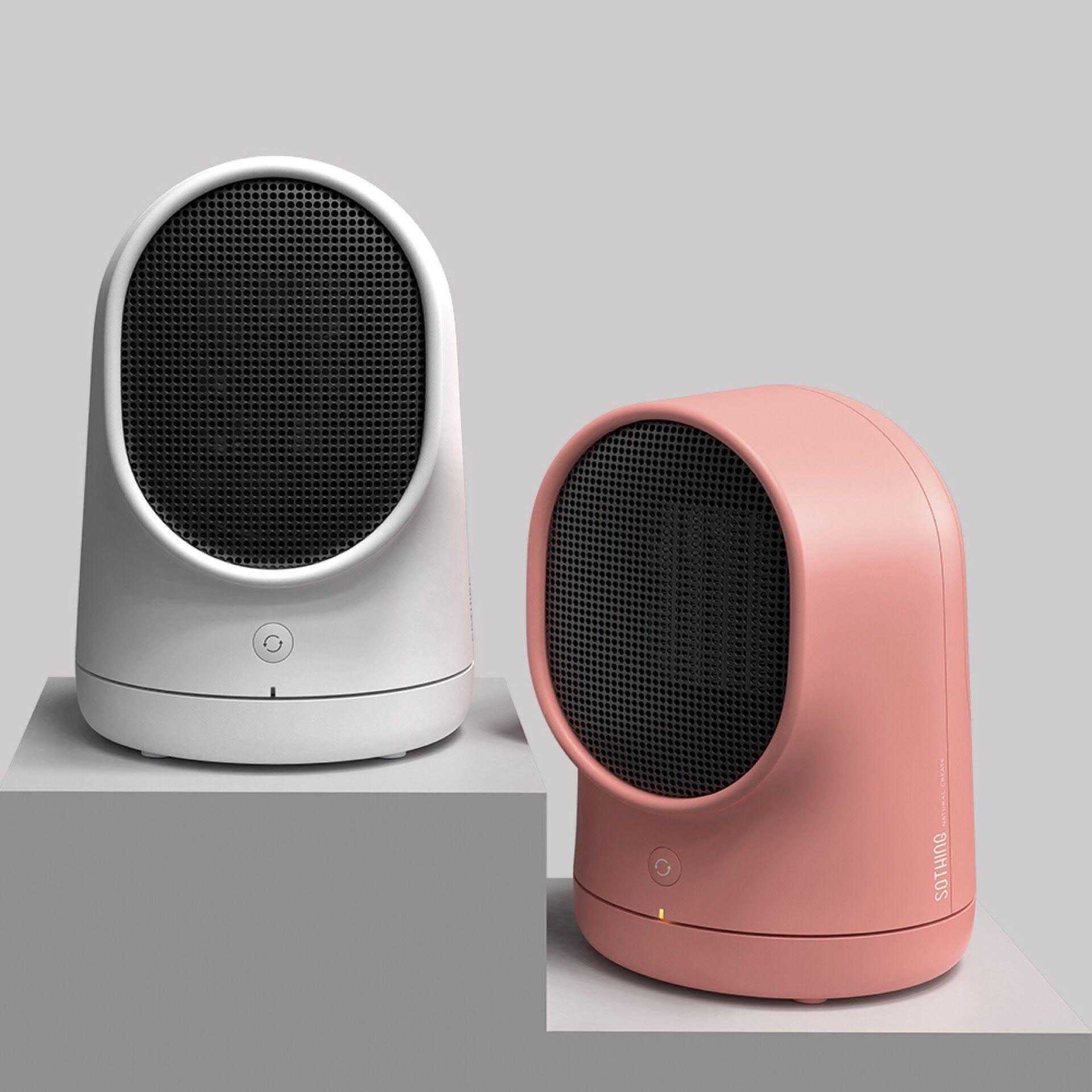 2018 220v Mini Electric Heating Desktop Heater Creative Home Gifts ...