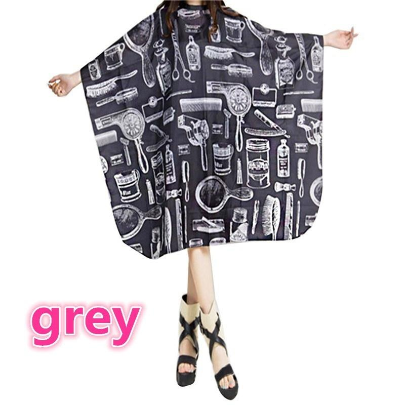 2018 Adult Cutting Cape Salon Hair Cut Hairdressing Barbers Hairdresser Cape Gown Cloth Waterproof ZWI