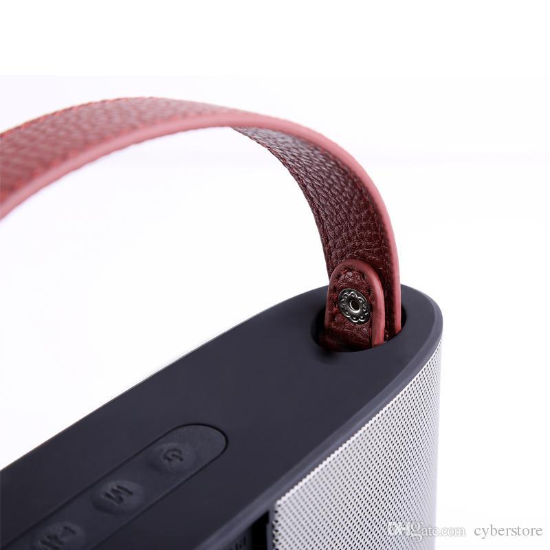 Subwoofer Sem Fio Bluetooth Speaker V4.2 + EDR À Prova D 'Água Ao Ar Livre Portátil Alto-falantes Subwoofer Som Estéreo 3000 mAh para Casa Praia de Viagem