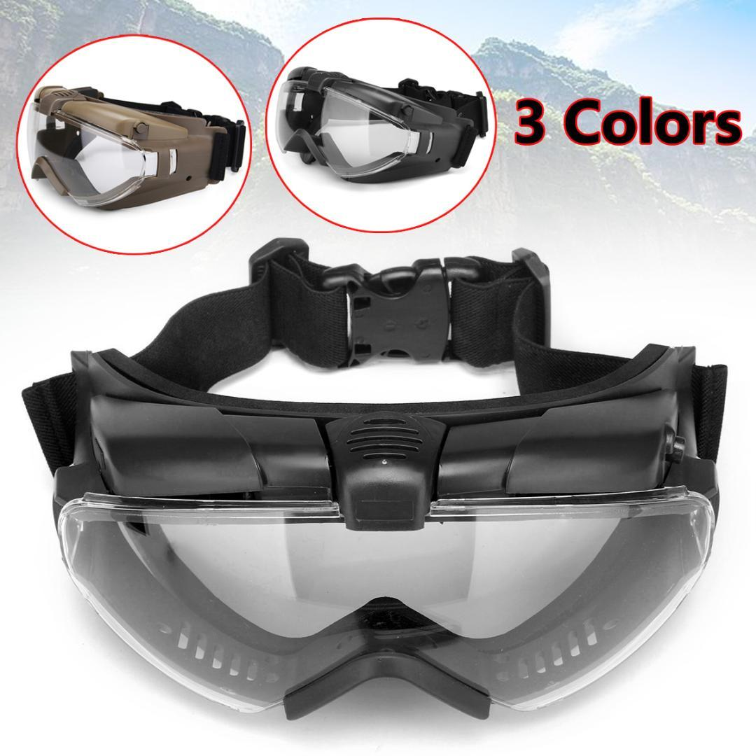 84e257f66f1f 2019 Tactical Anti Fog Anti Dust Safety Goggles Glasses Eyewear With Fan  Regulator Safety Eye Protection For Paintball From Hupiju