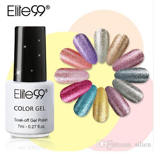 Elite99 7ml Gel Nail Polish Professional Salon Uv Nail Polish Gelpolish Hottest Colors Semi Permanent Polish Gel Varnish Nails Art & Tools