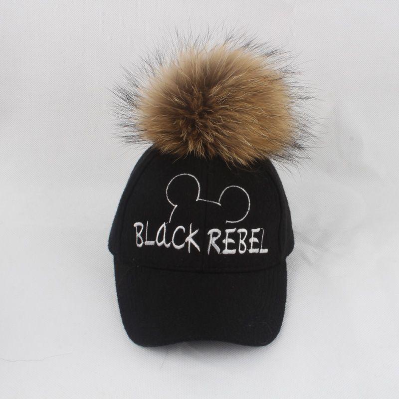 Autumn Winter Woen s Hat Woolen Thick Warm Baseball Cap Cover The Ears  Tongue Caps Adjustable Female Bone Fashion Lady s Hat Men Hats Zephyr Hats  From ... 34092fff3e4