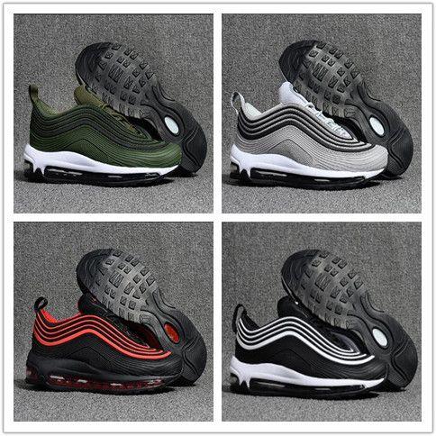 Designer 97 Running Shoes Mustard Yellow South Beach SE OG Gold Silver  Bullet Triple White Black Men Women Trainer Sport Sneaker Size 40 46 White  Shoes For ... 0cfc30a2a
