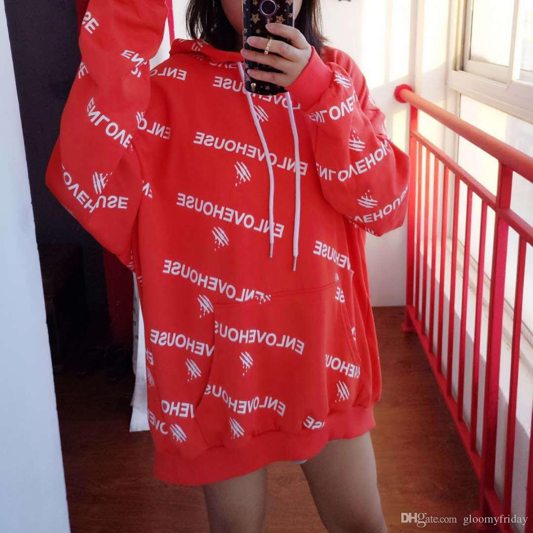 068eea81753 2019 Harajuku Big Sleeve Hoodies Full Letter Personality European And  American Style BF Hoodies Loose Size Women S Wear From Animao