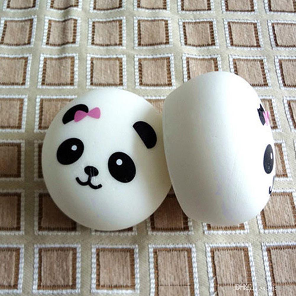 Luggage & Bags 7cm Key/bag Strap Pendant Squishes Bag Accessories Jumbo Panda Squishy Charms Kawaii Buns Bread Cell Phone