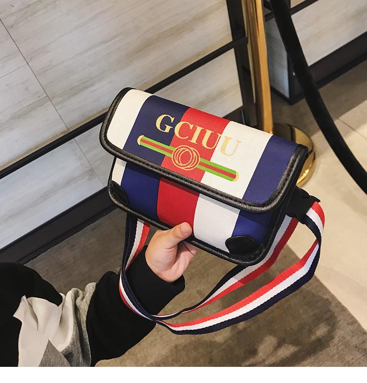 9af4f3bcb193 Designer Kids Stripe Bag Fashion Girls Letter Printed Crossbody Bag Children  Stripe Single Shoulder Bag Kids Princess Handbag F2019 Kids Single Stripe  ...