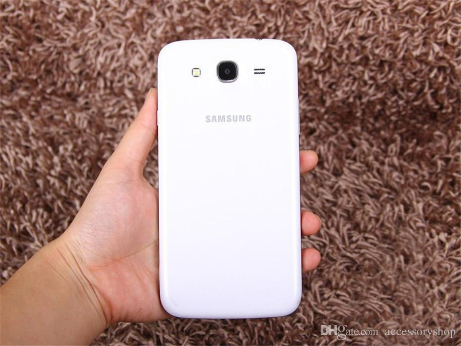 Rinnovato originale Samsung Galaxy Mega 5.8 i9152 Dual SIM 5,8 pollici Dual Core da 1,5 GB di RAM 8GB di ROM 8MP 3G sbloccato il telefono Android DHL