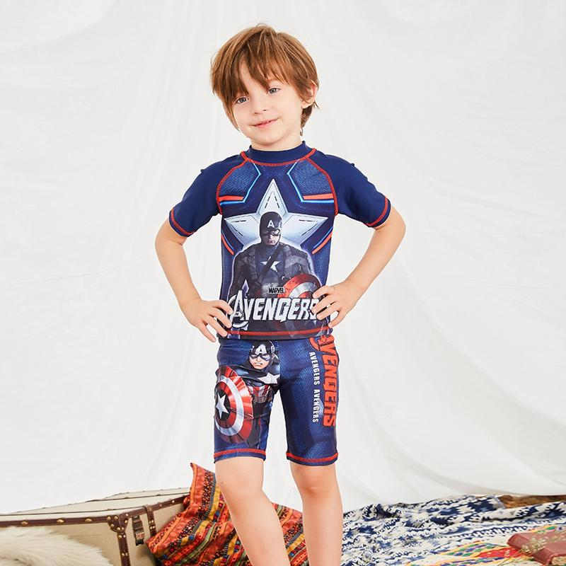 542d341ad 2019 2018 Children Swimwear Boy Short Sleev Swimsuit Kids Swimwear Anti UV  Swimwear Two Piece Bathing Suits Swimming Suit From Topseller_store, ...