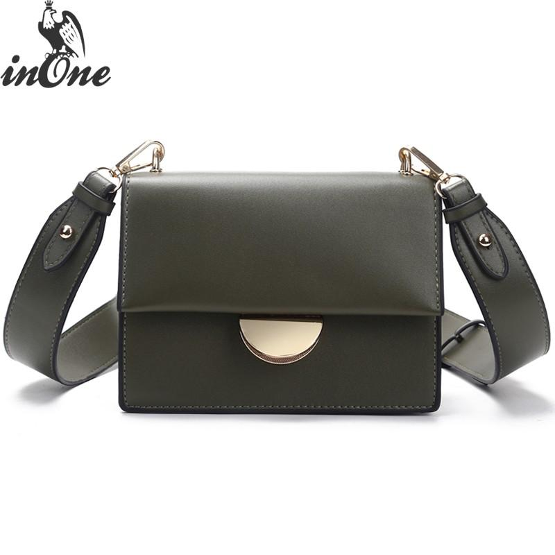 4bc013feadb INONE 2018 Ladies Hand Bags Women Messenger Shoulder Bags Metal Lock ...