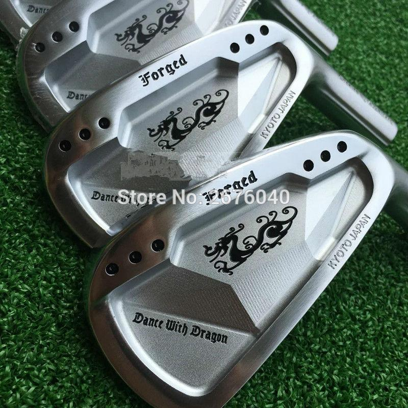 2018 Right Hand Golf Clubs Dance With Dragon Forged Iron Set Silve ...