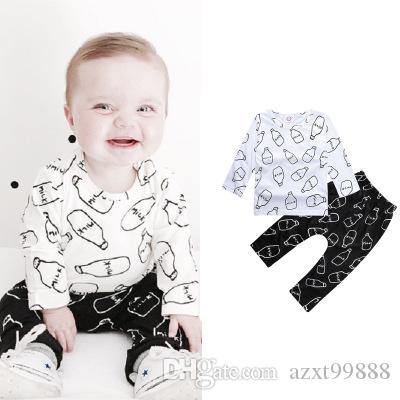 2018 2016 newborn boy clothes baby clothes template letter milk long